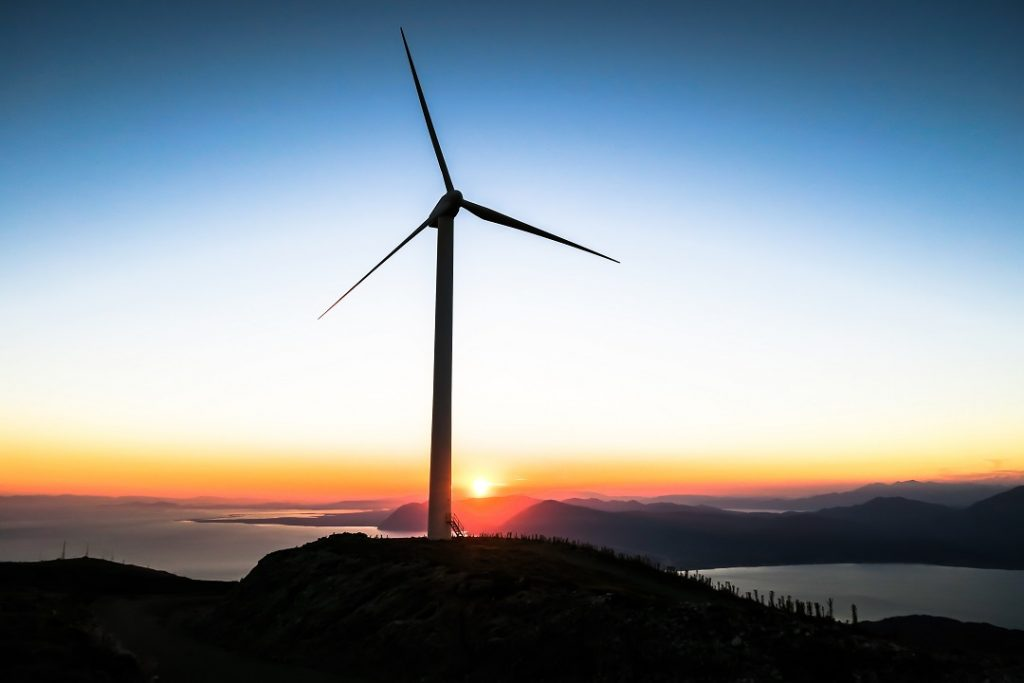 Aerogenerador, energía eólica