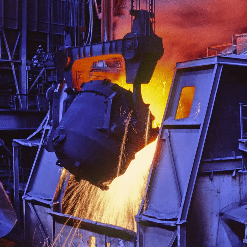horno industrial, combustión