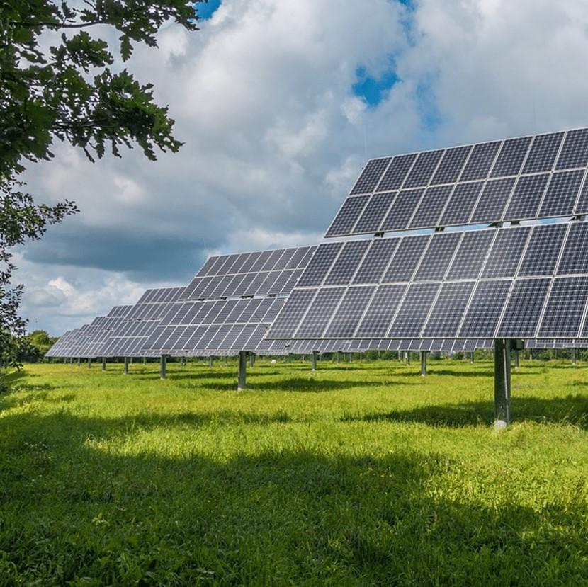 energía solar, placa solar